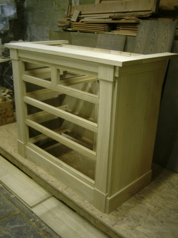 Pilasters fitted.JPG